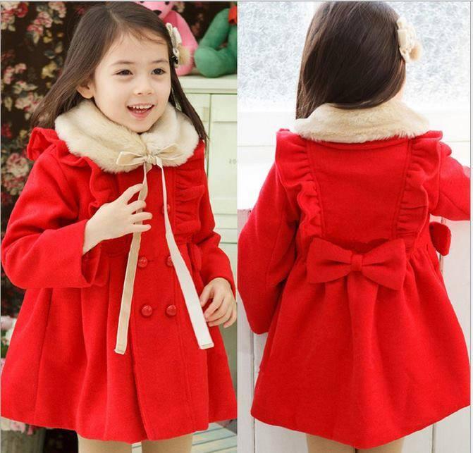 Thời trang giáng sinh cho bé gái vào mùa đông